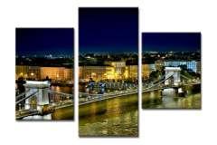 Будапешт ночью (модульная)
