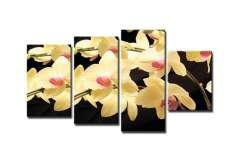 Орхидея желтая (Модульная)