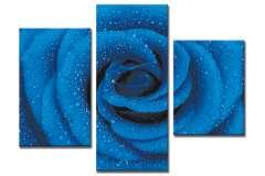 Роза синяя (модульная)
