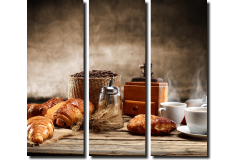 Кофе и булочки (модульная)