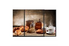 Кофе и булочки (Модульная 110*70)